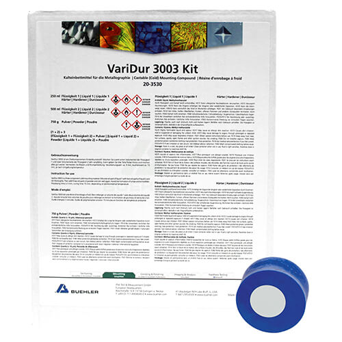 VariDur 3003, kit, 750g / 250ml / 500ml