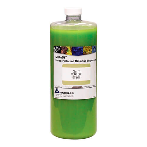 MetaDi Suspension, 3 µm, vert; 950 ml