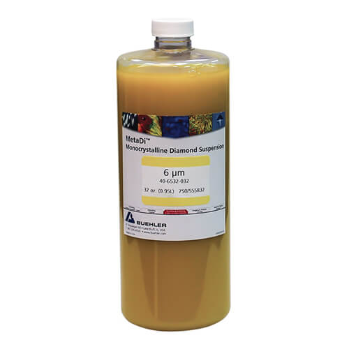 MetaDi Suspension, 6 µm, jaune; 950 ml