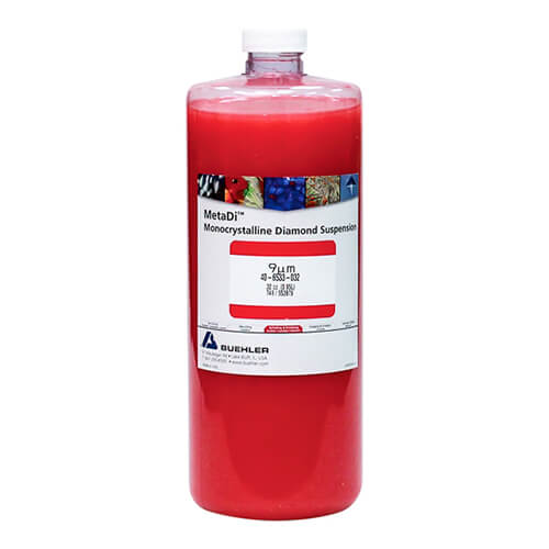 MetaDi Suspension, 9 µm, rouge; 950 ml