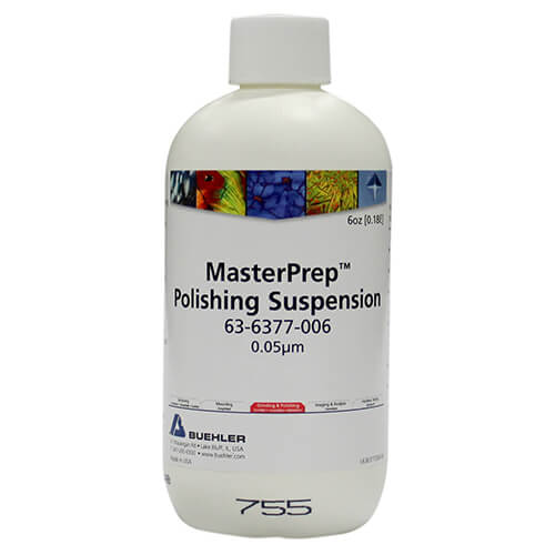 MasterPrep, Suspension Al2O3, 0,05 µm; 180 ml