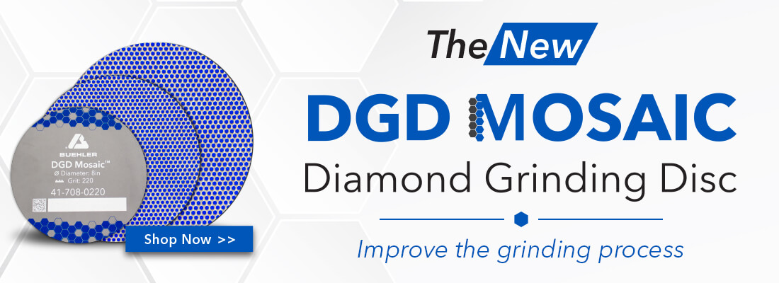 Improve the Grinidning Process. Shop the New DGD Mosaic Diamond Grinding Disc now.
